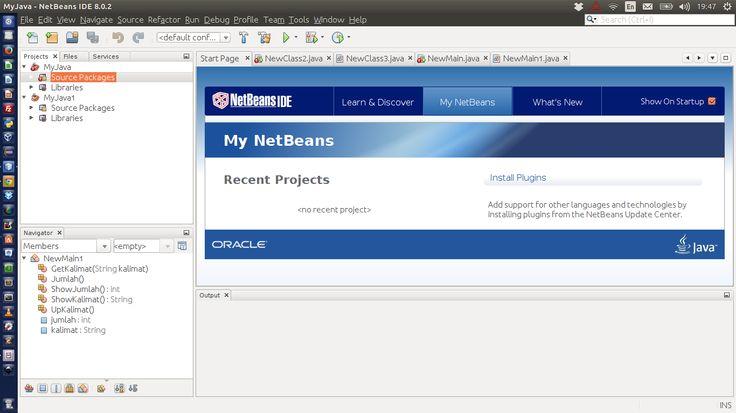 Cara Install NetBeans IDE di Ubuntu 14.04 atau Windows
