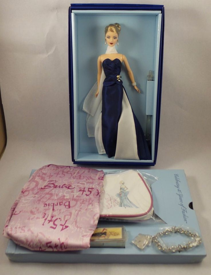 2004 Barbie Convention Doll & Accessories Celebrating 45 Years In Fashion NRFB #Mattel #DollswithClothingAccessories