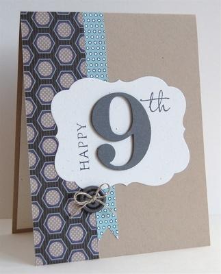 Boy Birthday Card Idea.... so simple..... but beautiful.....