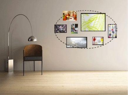 17 meilleures images propos de mur de cadres sur pinterest murs de photos photos et galeries. Black Bedroom Furniture Sets. Home Design Ideas