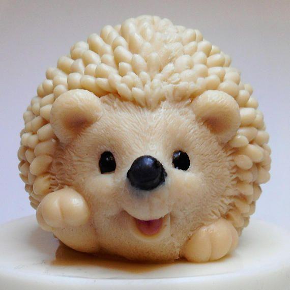 Hedgehog soap  Soap Hedgehog  Novelty Soap  Cute soap gift