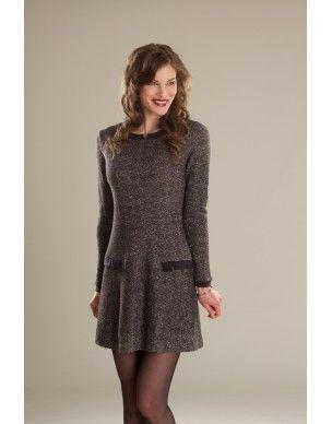 Robe/Dress ChaÏ Latte - KARKASS fashion designer. Mode québécoise / Made in Quebec