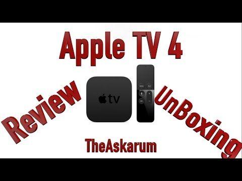 Apple TV 4 | Review | UnBoxing | MKV NAS Stream | Siri Easter Egg | Deut...
