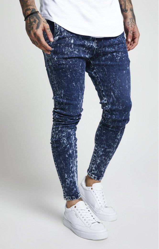 ac0b487abc9 Drop Crotch Denim – Blue in 2019 | stylish cloths | Drop crotch ...