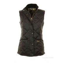 Barbour // Barbour Ladies' Aylesbury Liddesdale Gilet - Black LQU0390BK91 - £99.95