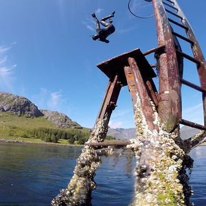 full power at the #snorkling trip ;) #lofoten #action #ramberg #lofotenadventurecompany pic by @karischibevaag #trips every day in the #summer #fun #ilovenorway #nrksommer #knowroaming #mittnorge