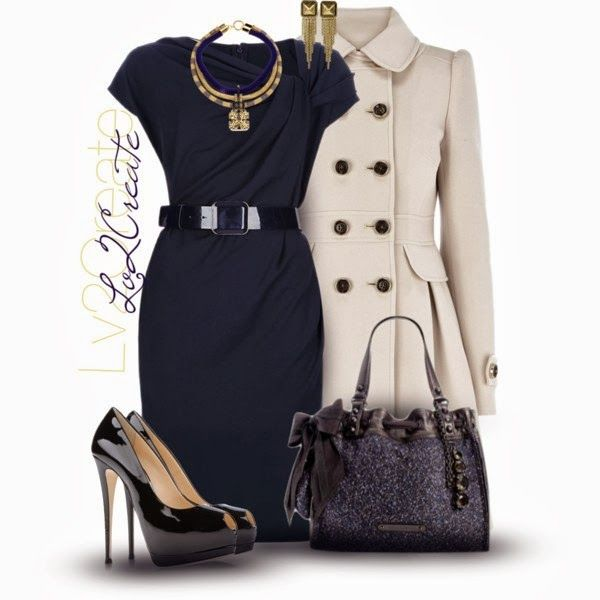 Classy Outfit: Church Outfits, Style, Blue Dresses, Design Handbags, Fashionista Trends, Dresses Contest, Work Outfits, Dresses Outfits, Classy Outfits