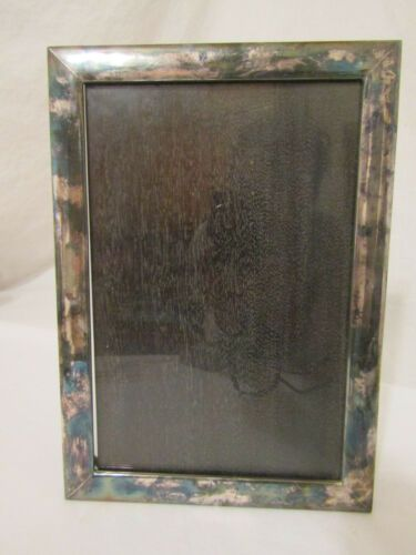 Vintage 999 Sterling Silver And Wood Rectangular Picture Frame Japanese 10 X 7 In 2020 Gold Picture Frames Silver Picture Frames Antique Gold Mirror