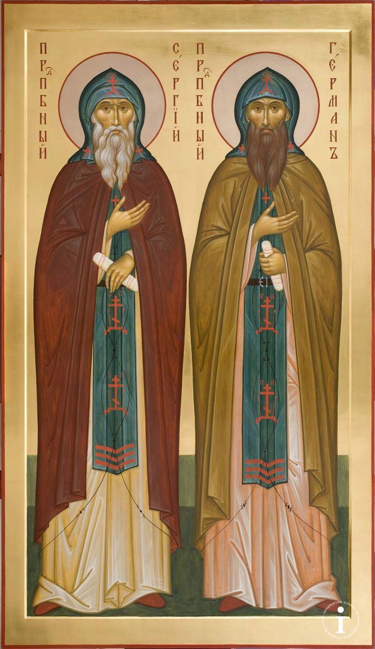 Sts Sergius & Herman of Valaam / NQI-d5ZPOdg.jpg (1185×2048)