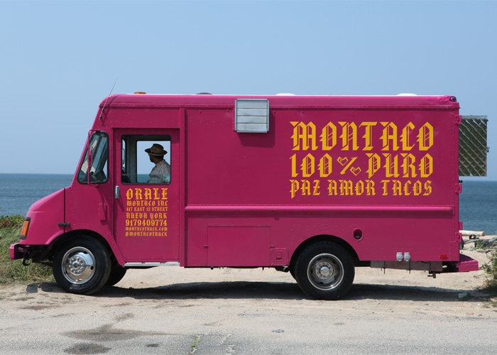 Branding For Montaco A Taco Truck Selling And Catering In Montauk Miami