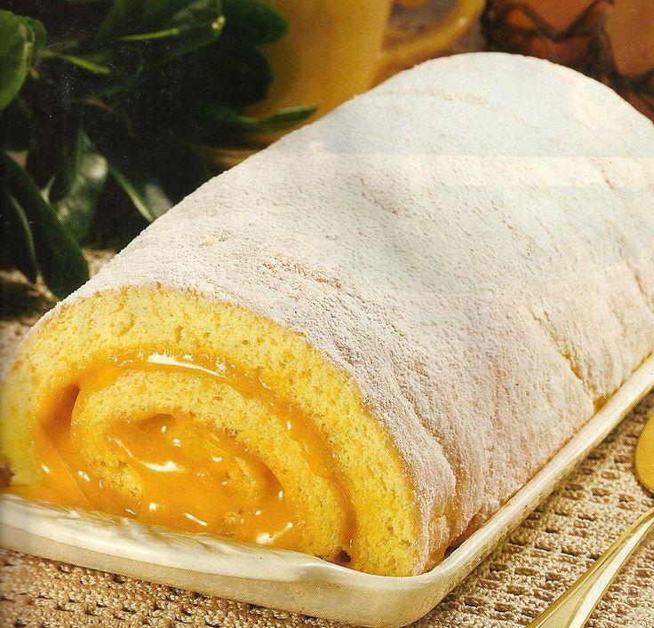 Torta com Creme de Ovos - http://www.receitassimples.pt/torta-com-creme-de-ovos/