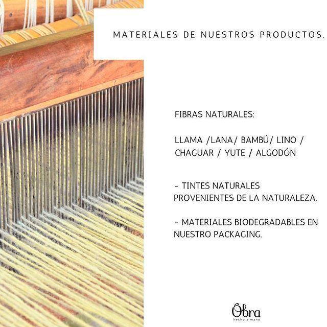 Te contamos mas sobre nuestros productos: seleccionamos y diseñamos productos realizados con fibras naturales y materiales nobles resistentes al paso del tiempo y el uso. Son esos materiales y su proceso artesanal los que harán que pasen los años y sigas usándolos queriéndolos y conservándolos en el mismo estado. . . . . . . #fibrasnaturales #materialesnobles #tecnicas #artesanal #telar #fibradellama #lanadeoveja #bambu #yute #algodon #chaguar #tintesnaturales #modaetica #ethicalfashion…