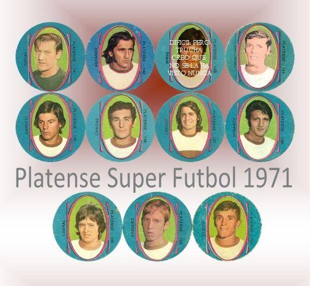 Figuritas de Futbol: Figuritas Super Futbol 1971 - Platense