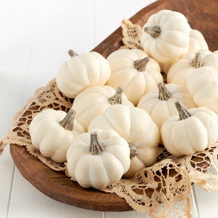 Assorted Harvest White Artificial Baby Boo Pumpkins Pumpkin Vase Artificial Pumpkins White Pumpkins