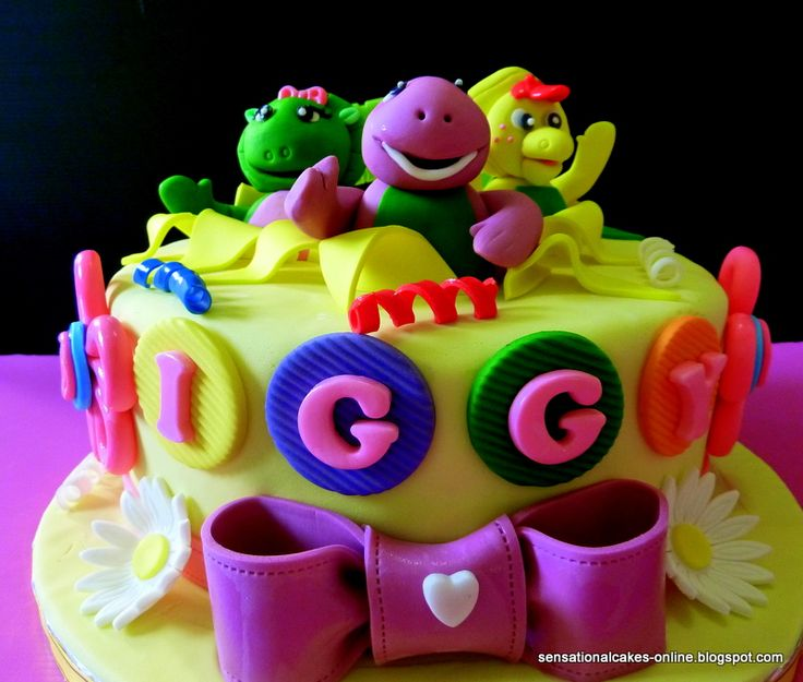 Top 25 Best Barney Cake Ideas On Pinterest Barney