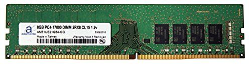 Introducing Adamanta 8GB 1x8GB Memory Upgrade for Gigabyte GAB150MD3H GSM DDR4 2133 PC417000 DIMM 2Rx8 CL15 12v RAM. Great product and follow us for more updates!