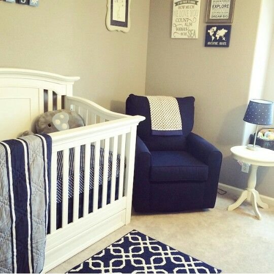 Blue/Beige Boy Nursery