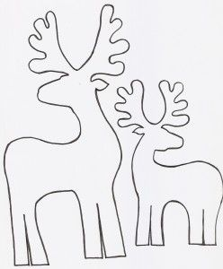 Molde de renos