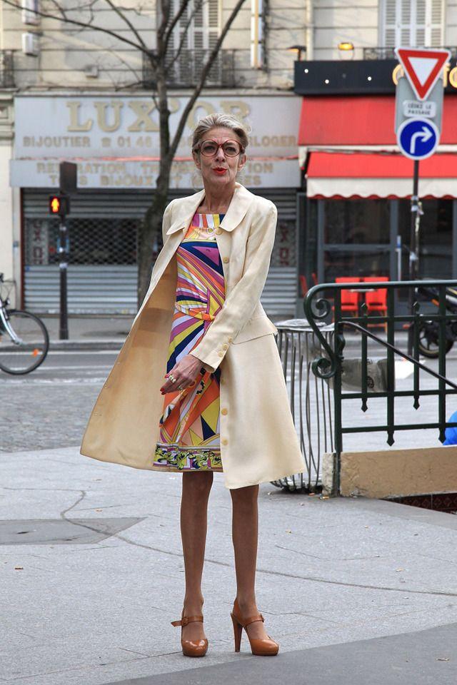 パリのおしゃれマダムのファッションと名言。シニア女性の人生観を捉えたスナップ集 10枚目の写真・画像 | ファッショントレンドニュース|FASHION HEADLINE もっと見る