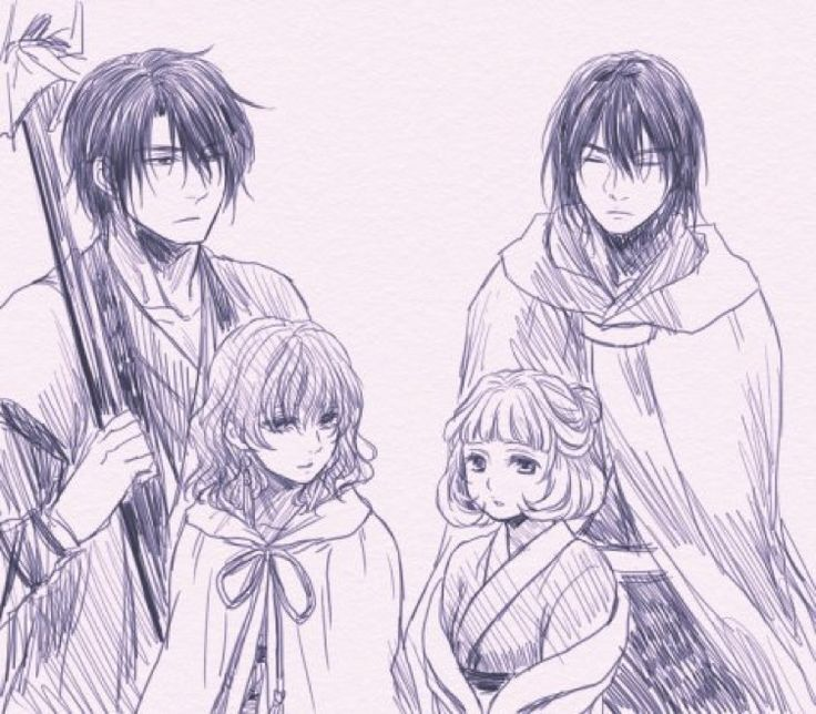 Princess Tao and vold Voldo? Hak and Yona
