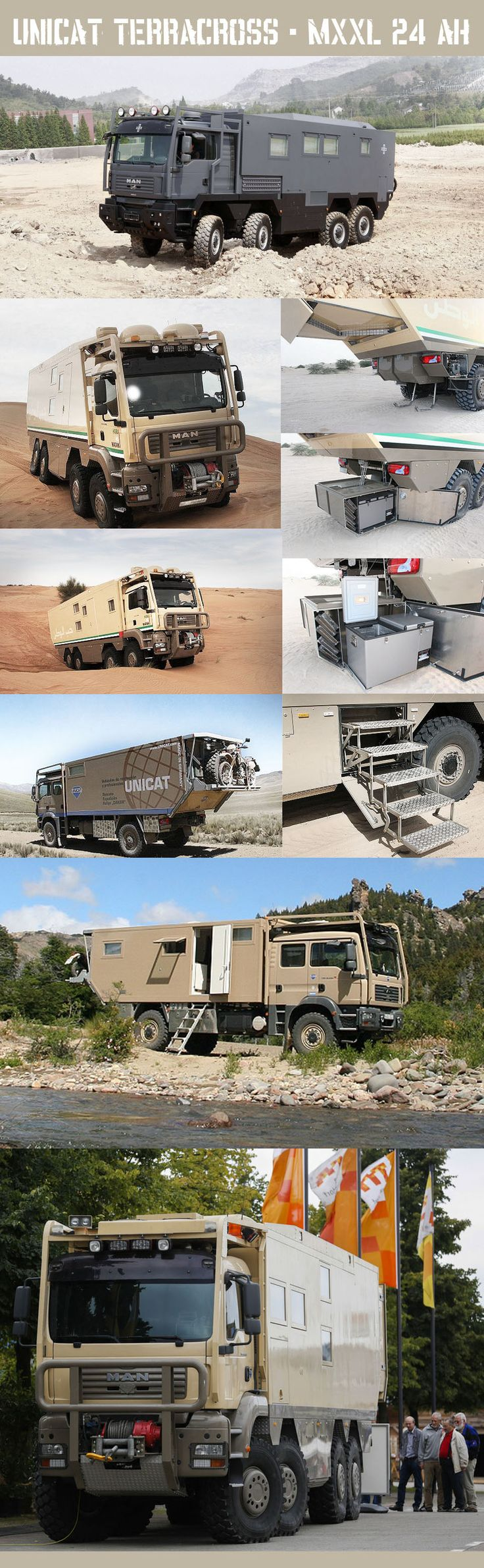 186 best camping truck images on Pinterest | Caravan, Campers and ...