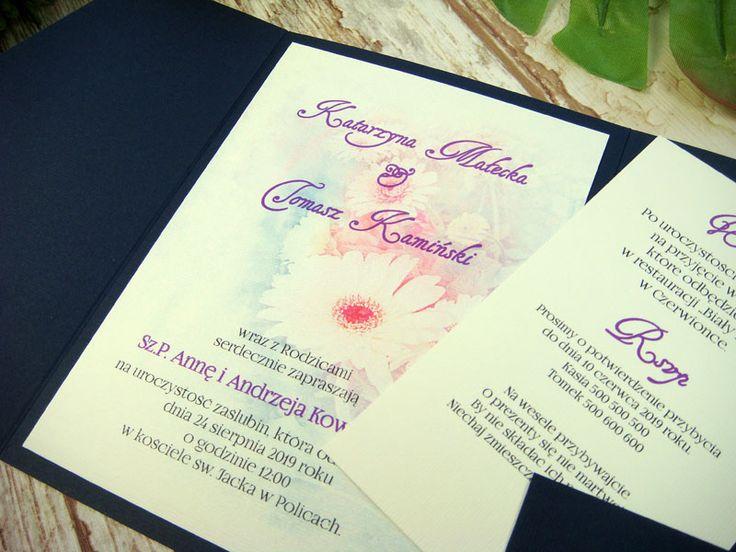 zaproszenie ślubne w folderze Gk2