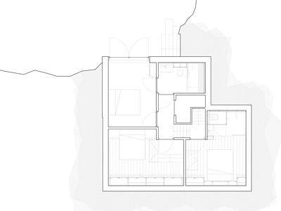 Plán domu - podlaží pod úrovní země