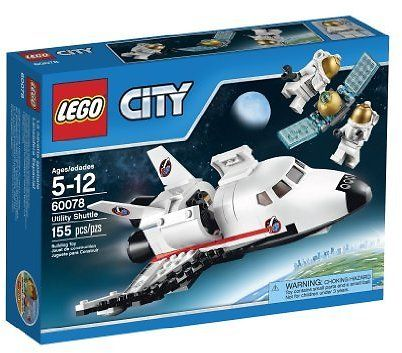 LEGO City Space Port 60078 Utility Shuttle Building Kit: Sold by G & H Wholesale Direct with Free Shipping #coupons #discounts