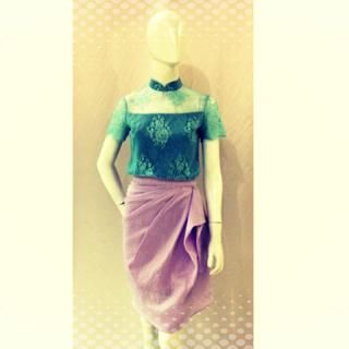 Sofia Top is Cornflower Blue and Vera Skirt in Lavender Purple  Top: IDR 750,000 Skirt IDR 850,000  For pricing, sizing, and ordering details please email us at nmayinda@gmail.com, Whatsapp us at 081299331039, or BB us at 2B07B968.