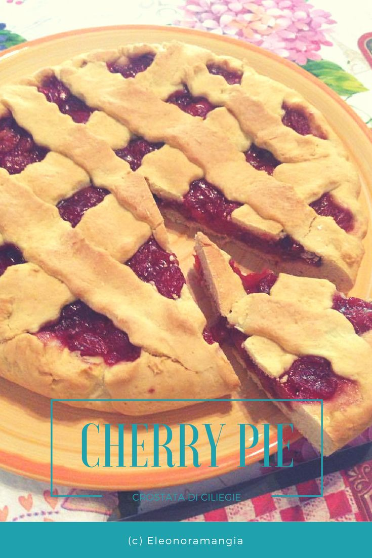 La mia versione della famosa cherry pie di Twin Peaks