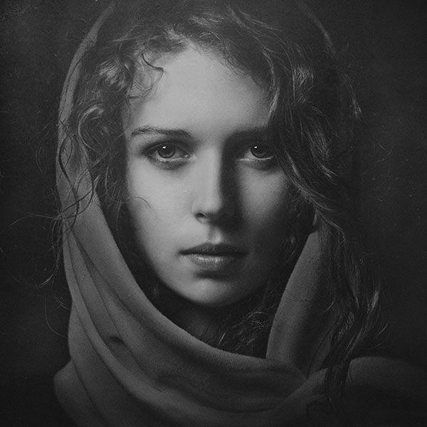 Paul Apal'kin black and white portrait