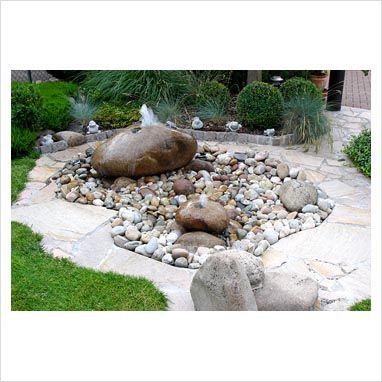 .Stone fountain - Garten - Naturstein - Quellstein