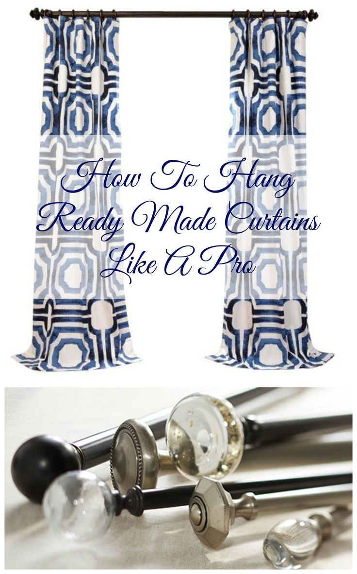 Best 25 How To Hang Curtains Ideas Only On Pinterest