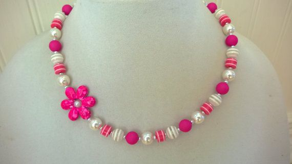 BUBBLEGUM NECKLACE Children jewelry Baby by LesBijouxLibellule