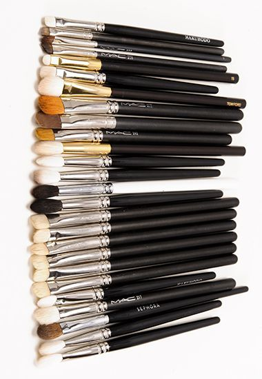 how to clean mac brushes