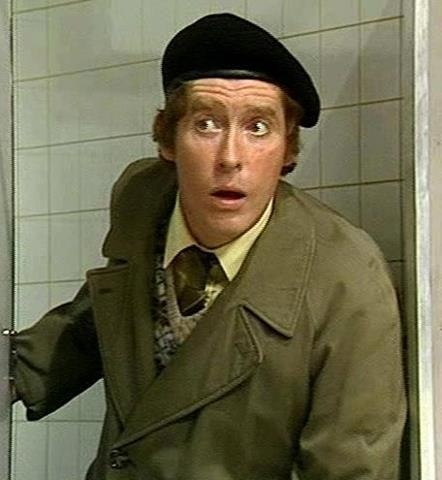 Michael Crawford as Frank Spencer in Some Mothers Do 'Ave 'Em