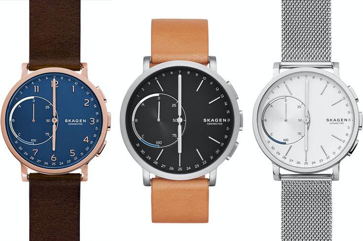Hagen Connected Is Skagen's First Smartwatch -- Albeit Analog - Smartwatch News - Smartwatch.me