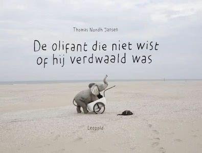 boek 101 | mijn recensie over Bart Eysink Smeets - De olifant die niet wist of hij verdwaald was | http://www.ikvindlezenleuk.nl/2017/10/smeets-olifant-verdwaald/