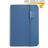 Kindle Leather Cover, Steel Blue, Updated Design (Fits Kindle Keyboard) (Accessory)By Amazon Digital Services Inc.