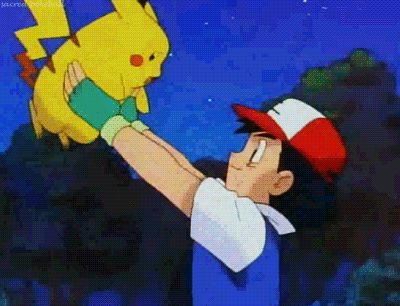 Pin for Later: 16 GIFs in Reverse That Will Make You Hurt From Laughing When you realise that Pikachu was kinda the worst.