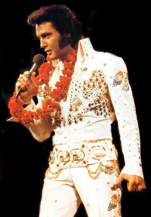 1973 Elvis, Aloha From Hawaii The King | Music | Pinterest