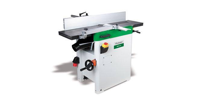 Dédié aux artisans et aux amateurs avertis, le combiné raboteuse/dégauchisseuse Holzstar ADH 310 d'Opti-Machines permet un grand nombre d'applications dans un espace réduit. Dotée d'un guide inclinable de 0 à 45° avec échelle de lecture graduée, cette machine est équipée d'un moteur de 2,75 kW, d'une large table guidée par quatre roulements et de rouleaux …