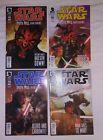 Star Wars Darth Maul Death Sentence 1-4 comicbooks  Darkhorse 2012