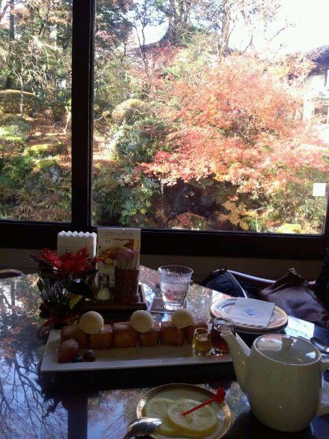箱根 富士屋ホテルカフェ