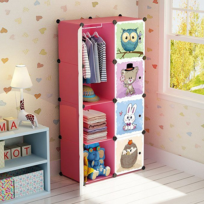 Maginels Portable Kid Organizers And Storage Organizer Clothes Wardrobe Cube Closet M Cube Storage Bedroom Baby Closet Organization Clothes Closet Organization