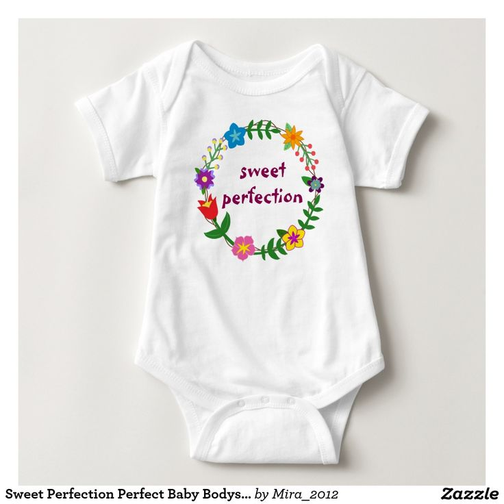Sweet Perfection Perfect Baby Bodysuit