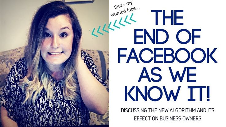 THE END OF FACEBOOK AS WE KNOW IT!!!!!!
