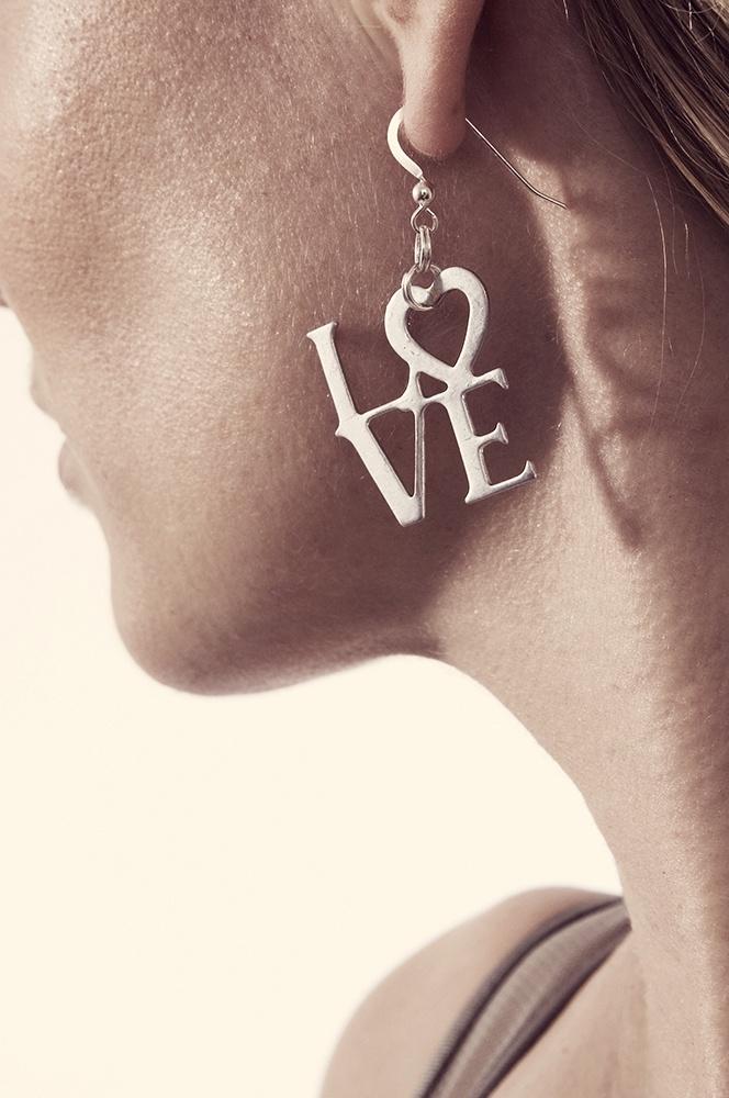 LOVE EARRINGS  #corneliawebb #charmed