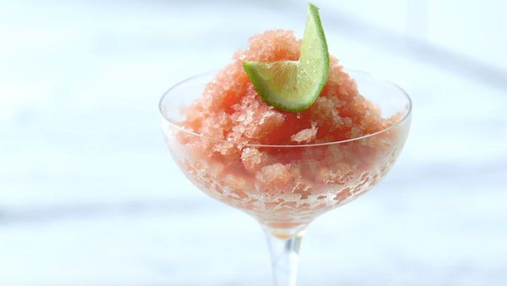 Watermelon-Lime Granita Recipe - PureWow
