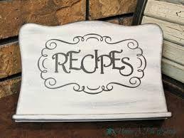 image result for recipe book holder